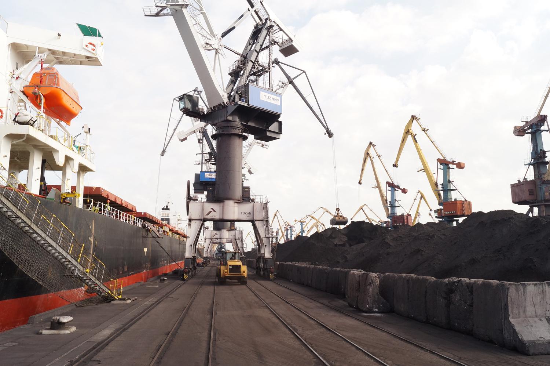 Южная Африка – порт Южный: Как разгружают заморский уголь на ГП МТПЮ