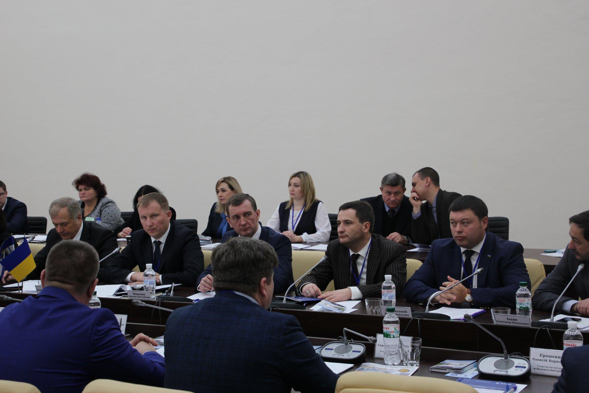 Южному відбулась спільна нарада Асоціації міст України та Міністерства інфраструктури України, АМПУ з питань діяльності морських портів