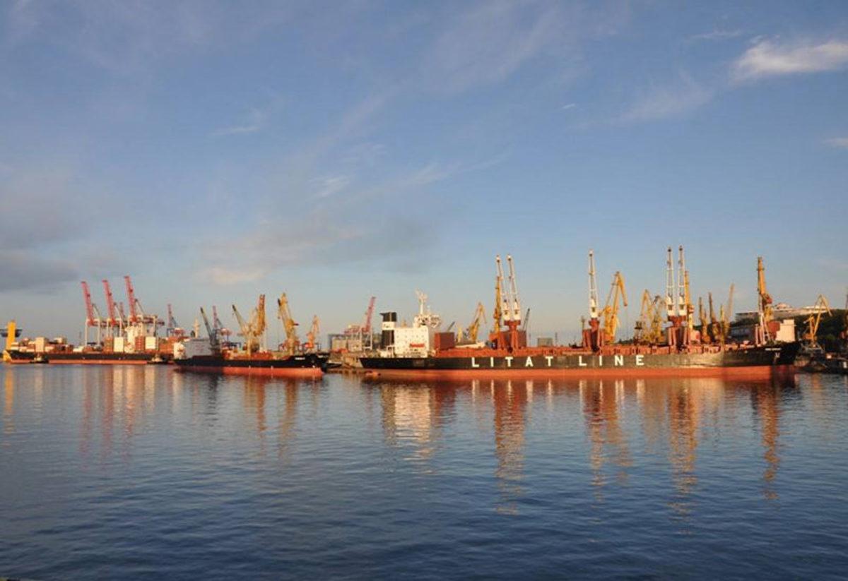 Грузопотоки портов Украины — 2017